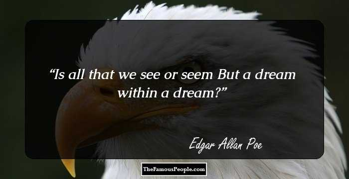 Best Edgar Allan Quotation and Sayings