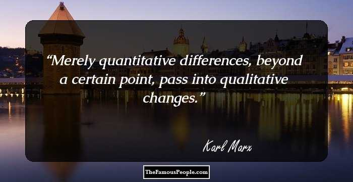 Best Karl Marx Quotation