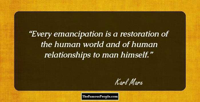 Best Karl Marx Quotations