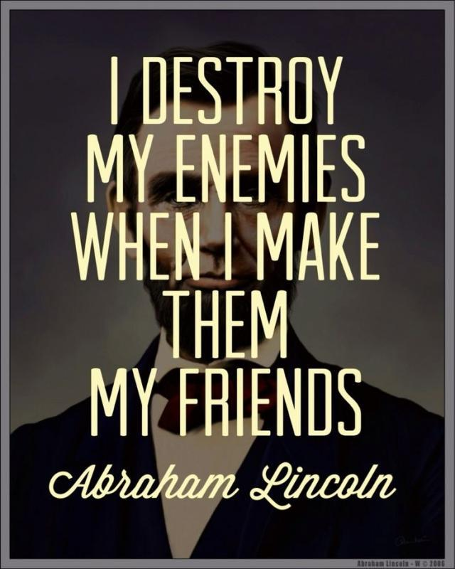 Brilliant Abraham Lincoln Sayings