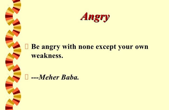 Brilliant Anger Quotation