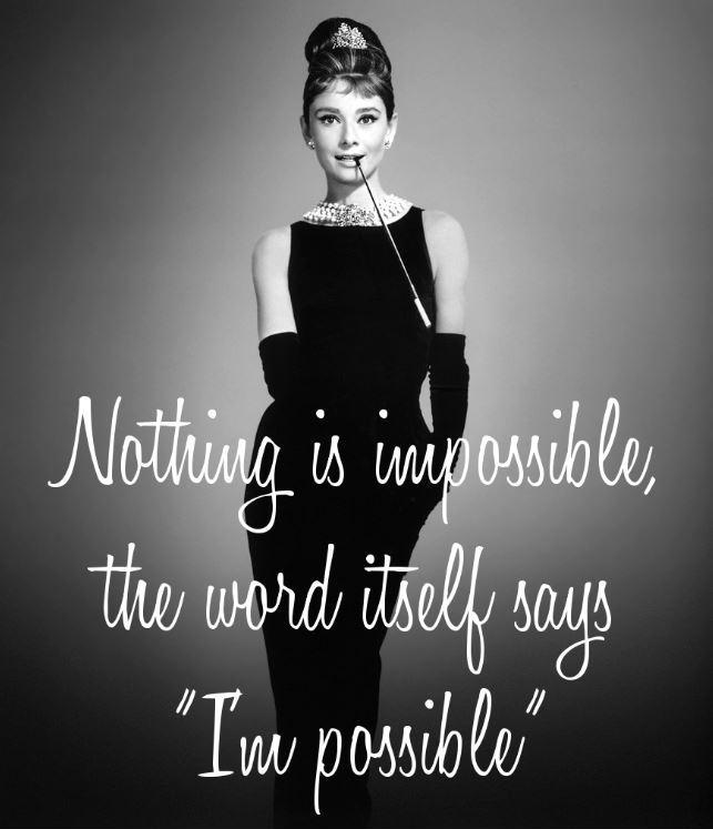 Brilliant Audrey Hepburn Quotation