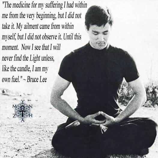 Brilliant Bruce Lee Quotation and Sayings