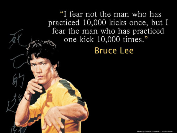 Brilliant Bruce Lee Quotations