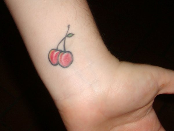 Brilliant Cherry Tattoos Design