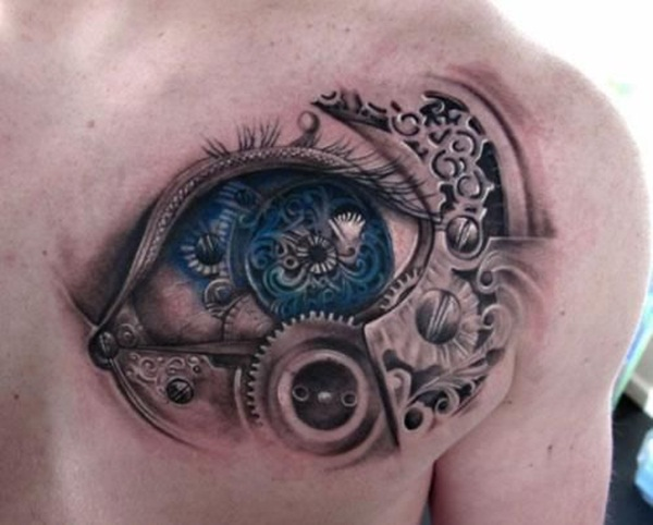 Brilliant Chest Tattoos Designs