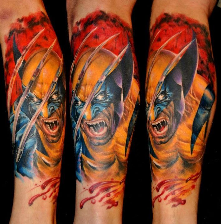 Brilliant Comic Tattoo Designs