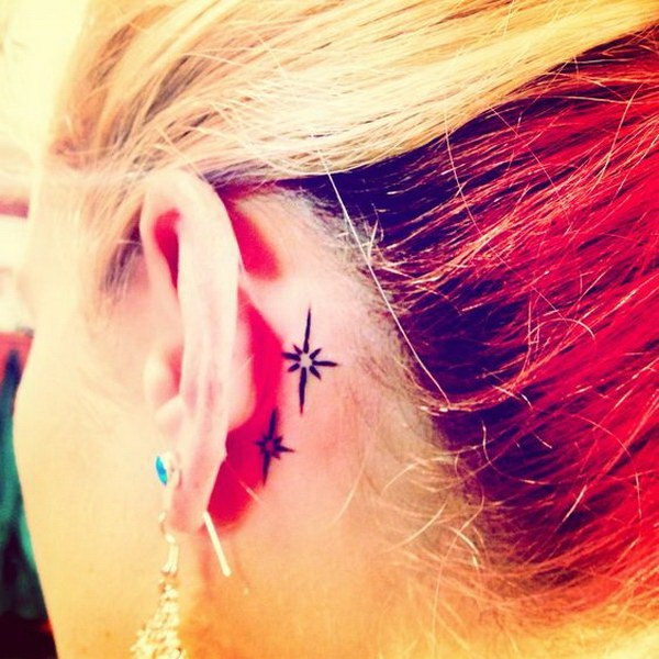 Brilliant Ear Tattoo