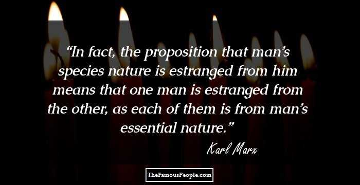 Brilliant Karl Marx Quotations and Sayings