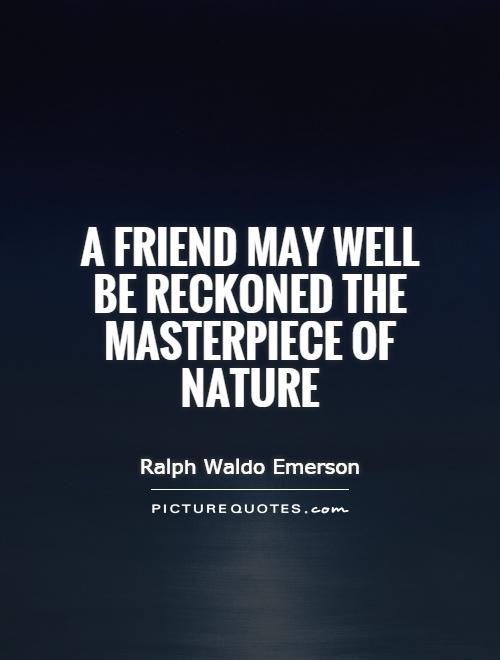 Brilliant Ralph Waldo Emerson Quotation