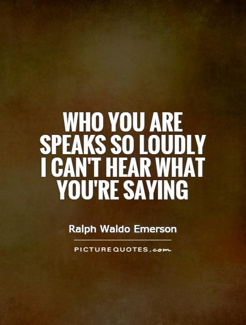 Brilliant Ralph Waldo Emerson Sayings