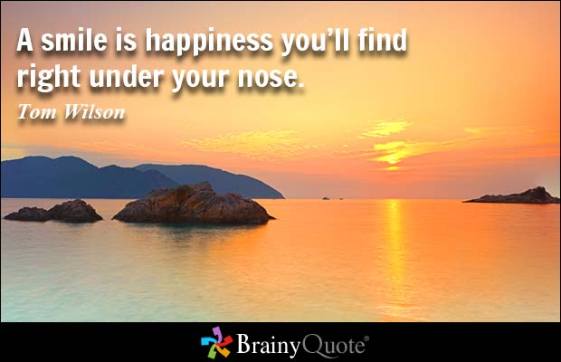 Brilliant Smile Quotations and Quotes