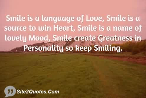 Brilliant Smile Quotes