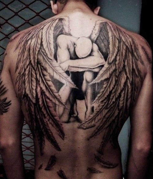 Brilliant Upper Back Tattoo Designs