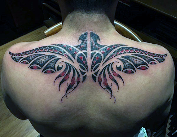 Brilliant Upper Back Tattoo