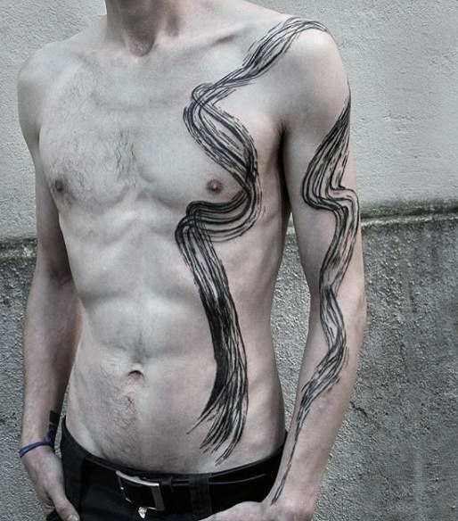 Charming Abstract Tattoo