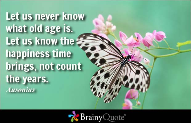 Charming Age Quotations