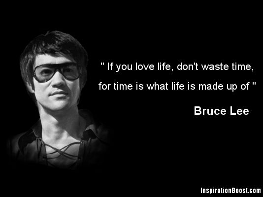 Charming Bruce Lee Quotation and Sayings