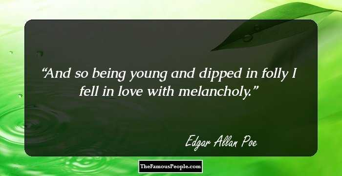 Charming Edgar Allan Quotation and Sayings