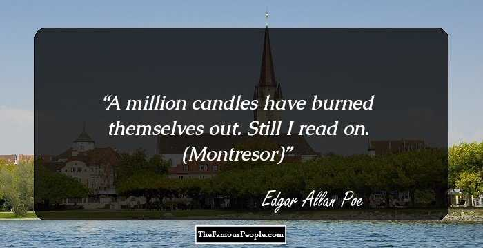 Charming Edgar Allan Quotations and Sayings