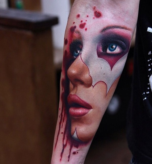 Charming Forearm Tattoo Design