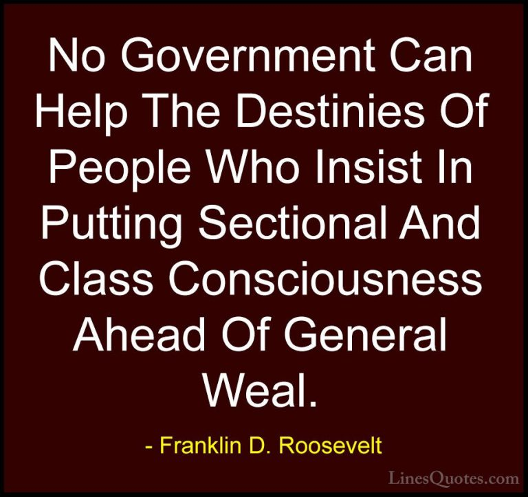 Charming Franklin D Roosevelt Quotes