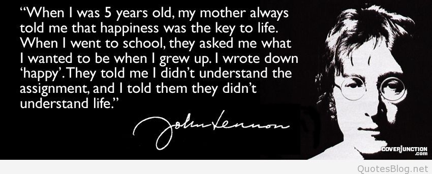 Charming John Lennon Quotes