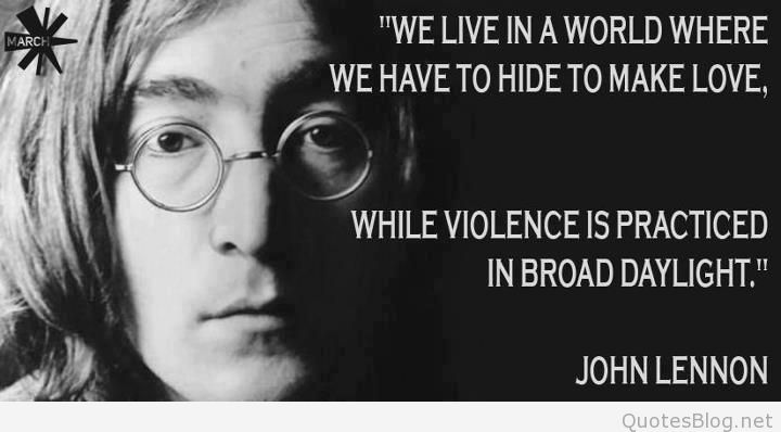 Charming John Lennon Sayings