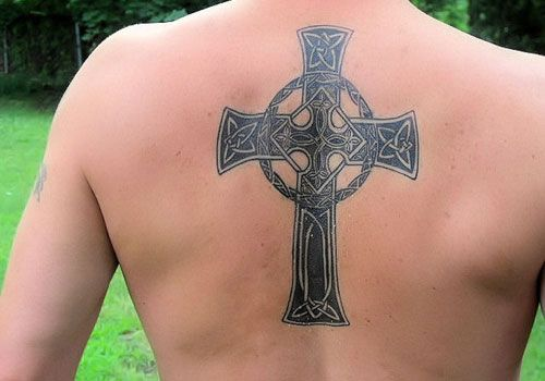 Charming Upper Back Tattoo Designs