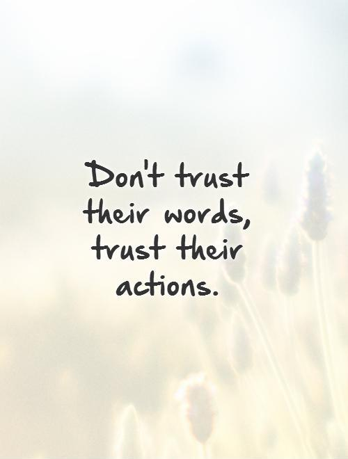 Cool Trust Quotes and Sayings