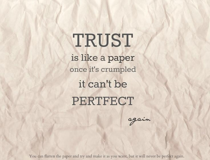 Cool Trust Sayings
