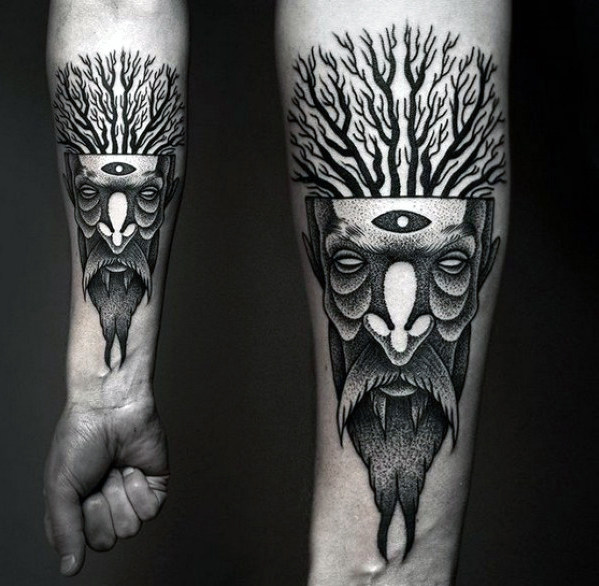 Cute Abstract Tattoo