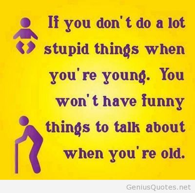 Cute Age Quotation