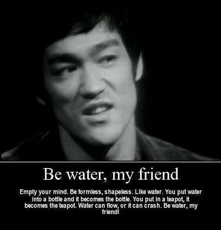 Cute Bruce Lee Quotation and Sayings