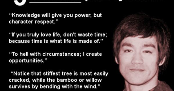 Cute Bruce Lee Quotations and Sayings