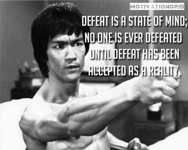 Cute Bruce Lee Sayings