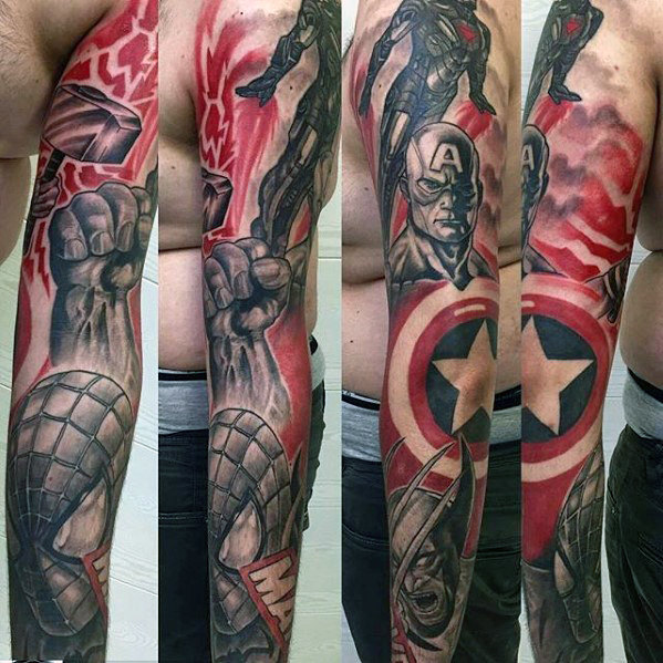 Cute Comic Tattoo
