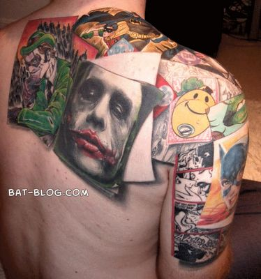 Cute Comic Tattoos Design