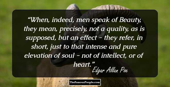 Cute Edgar Allan Quotations