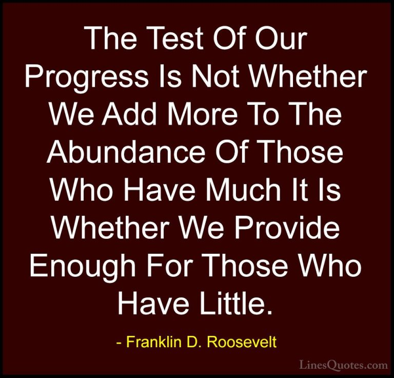 Cute Franklin D Roosevelt Quotes