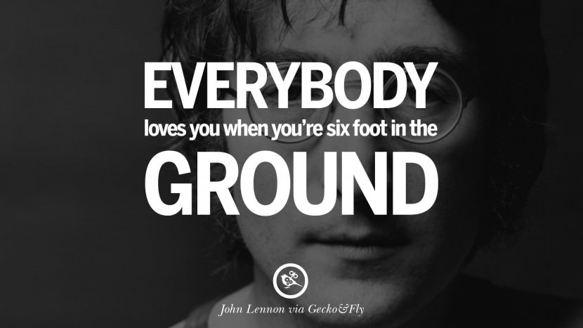 Cute John Lennon Sayings