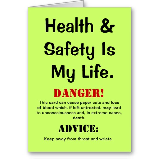 Cute Safety Quotations