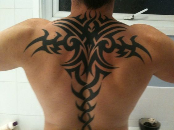 Cute Upper Back Tattoo Designs