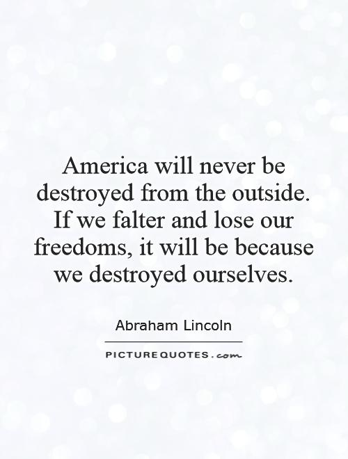 Elegant Abraham Lincoln Quotations and Quotes