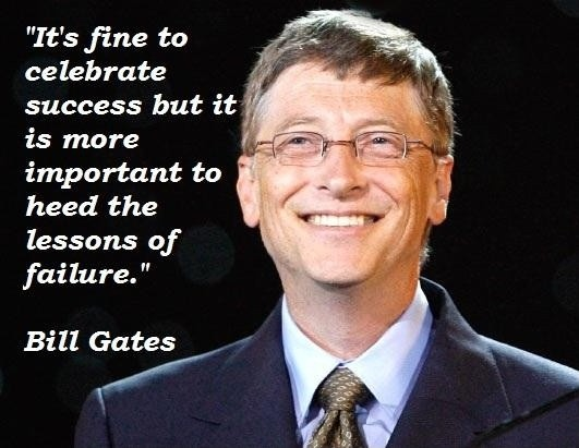 Elegant Bill Gates Quotations