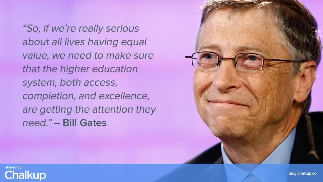 Elegant Bill Gates Quotes