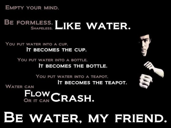 Elegant Bruce Lee Quotations and Sayings