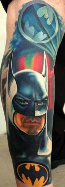 Elegant Comic Tattoos Design