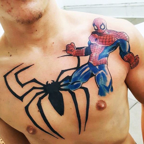 Elegant Comic Tattoos Designs