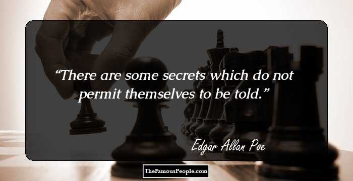 Elegant Edgar Allan Quotation and Sayings